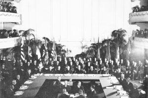 1920li yıllarda Washington Konferansı