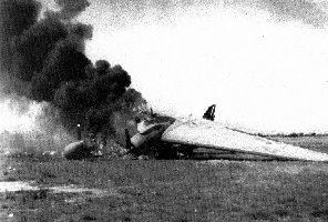 Myitkyna'da Düşürülmüş Uçak