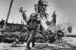 Guam'da M-1941 Giymiş Bir Asker