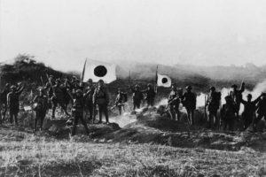 Güney Mançurya'daki Japon Askerleri