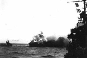USS Lexington'da meydana gelen patlama