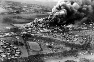 Japonlar Tarafından Bombalanan ABD Üssü