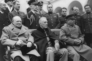 Roosevelt, Churchill ve Stalin